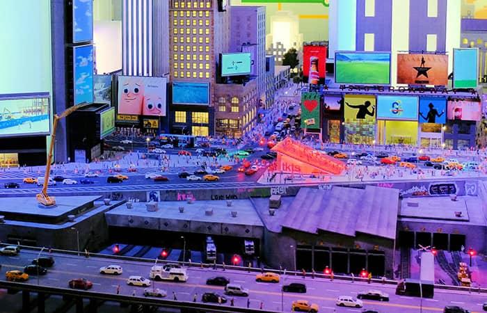 Gulliver's Gate Miniatuurwereld - Times Square