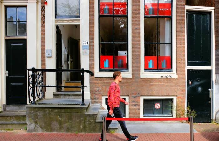 NewYork.nl Pop-upshop Buitenkant