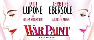 War Paint op Broadway Tickets