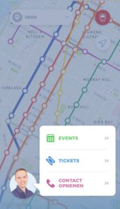 Eric's New York App - Tickets en Events