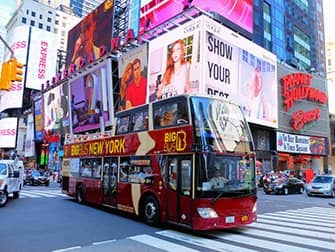 Verschil tussen New York Explorer Pass en New York Pass - Hop on Hop off Bus