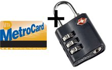 Unlimited + TSA lock