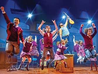 Broadwaymusicals voor Kinderen - School of Rock
