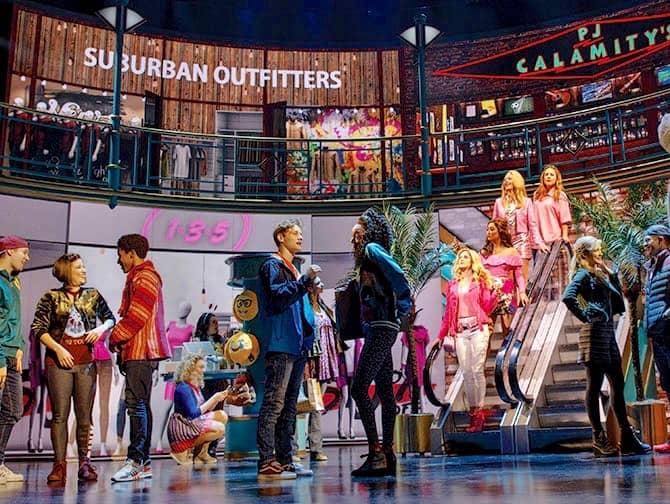 Mean Girls op Broadway Tickets - In het Winkelcentrum