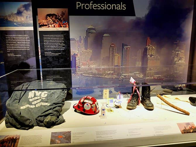 911 Tribute Museum in New York - Artifacts