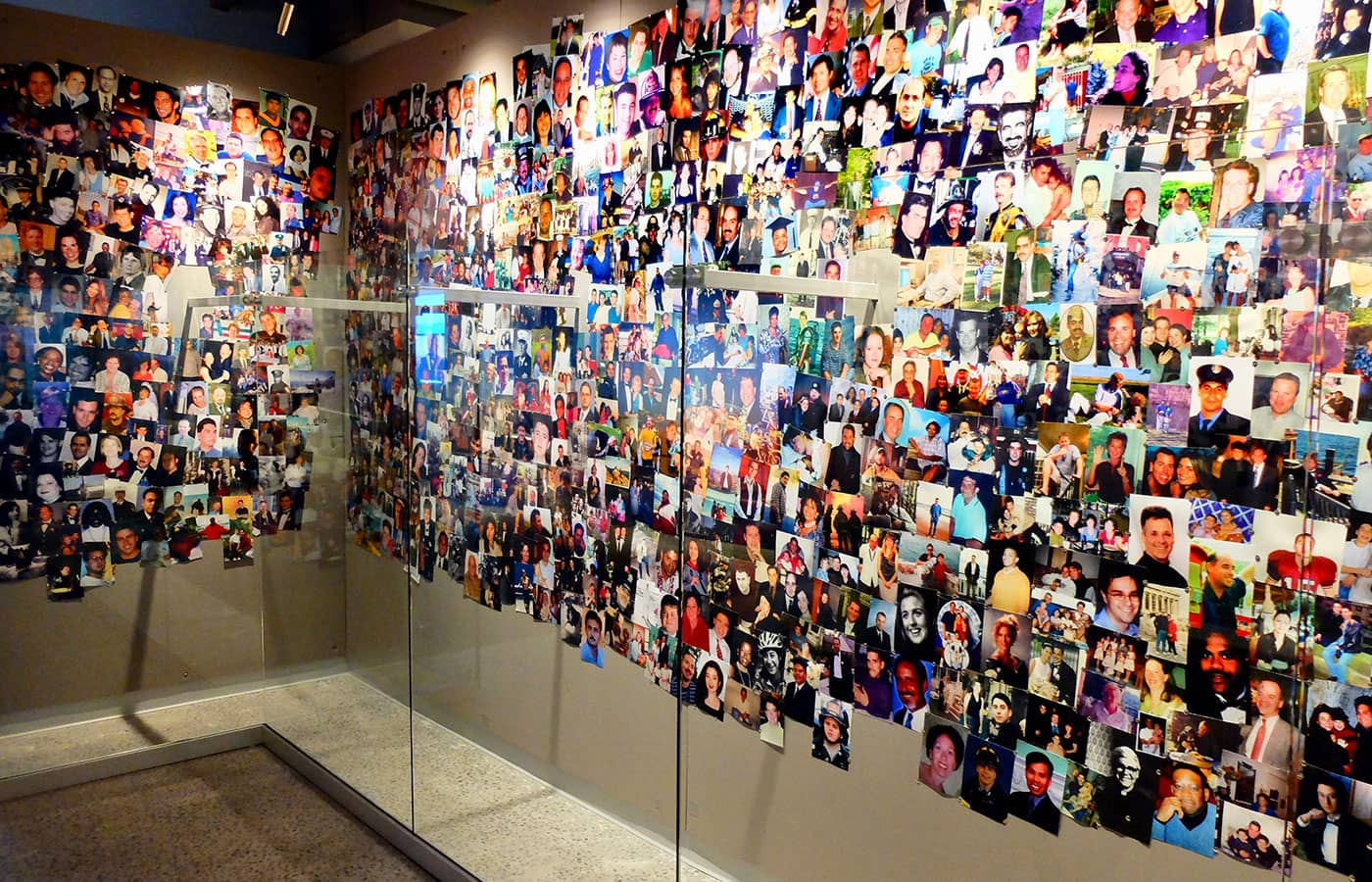 911 Tribute Museum in New York - Fotomuur