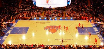 Knicks wedstrijd