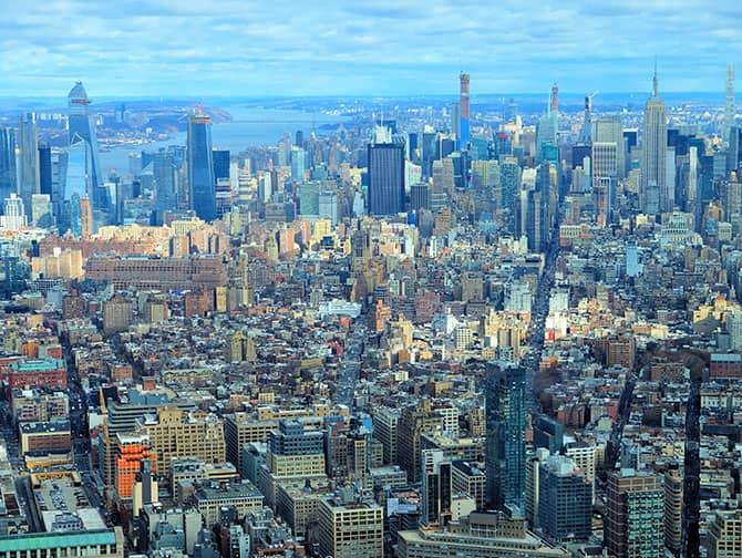 New York Sightseeing Day Pass - Uitzicht vanaf One World Observatory