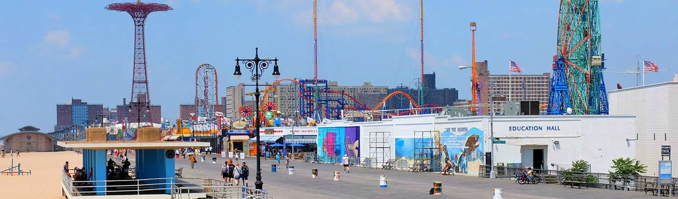 Zomer in de stad: Coney Island
