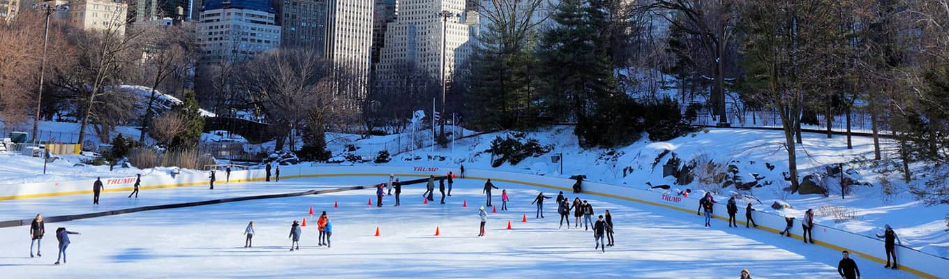 Ga schaatsen in New York