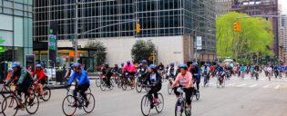 New York Five Boro Bike Tour