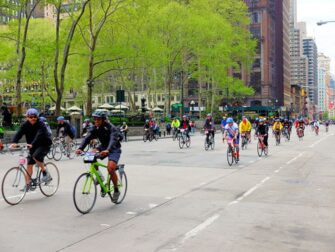 New York Five Boro Bike Tour - Bryant Park