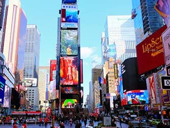 Superhelden Tour in New York - Times Square