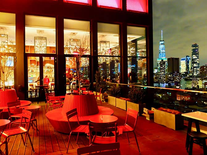 citizenM New York Bowery Hotel - Rooftop