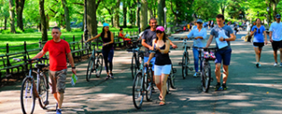 Elektrische Fietstour in New York
