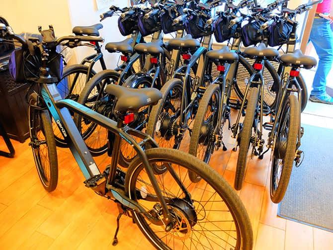 Elektrische Fietstour in New York - E-Bikes