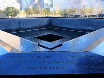 Verschil tussen New York Sightseeing Day Pass en New York Pass - 9/11 Memorial