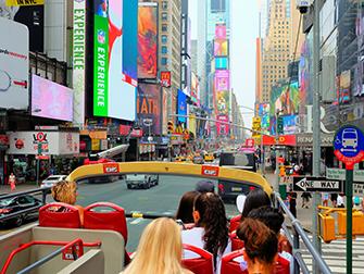 Verschil tussen New York Sightseeing Day Pass en New York Pass - Hop on Hop off Bus