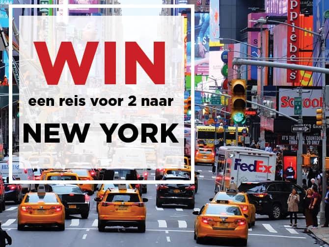 win een trip naar NY