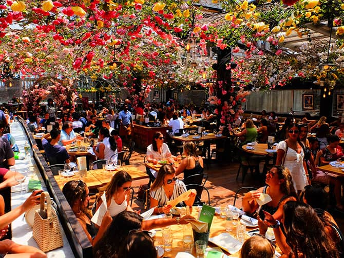 Restaurants in New York - Birreria Rooftopterras