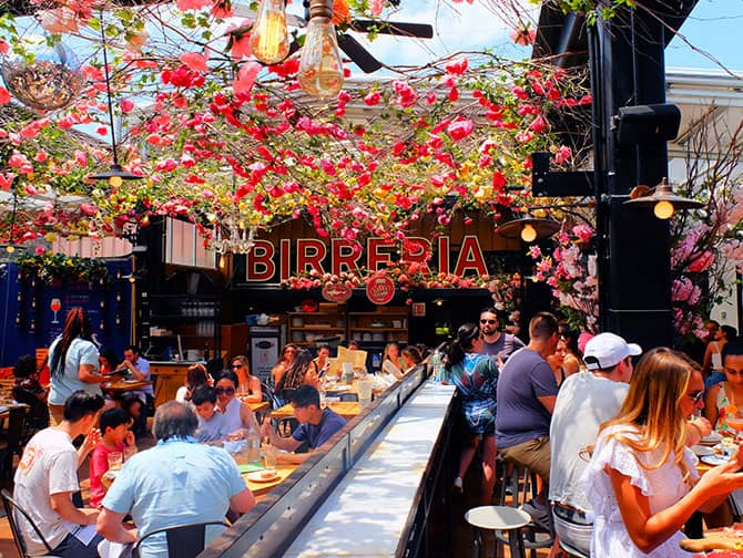 Restaurants in New York - Birreria