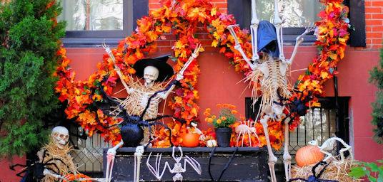 Vier Halloween