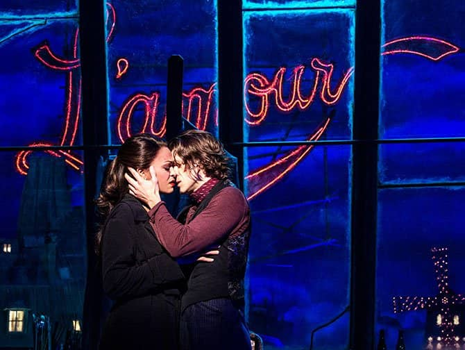 Moulin Rouge! The Musical op Broadway Tickets - L'amour