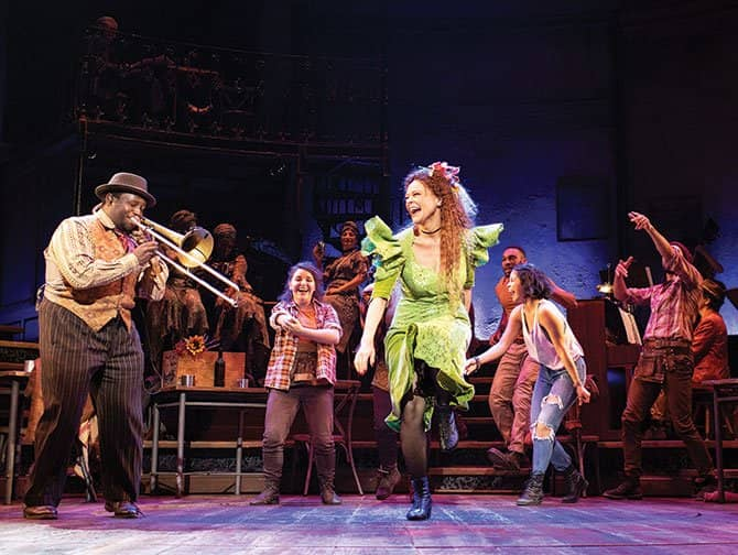 Hadestown op Broadway Tickets - Dansen