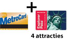 Unlimited + 4 attracties