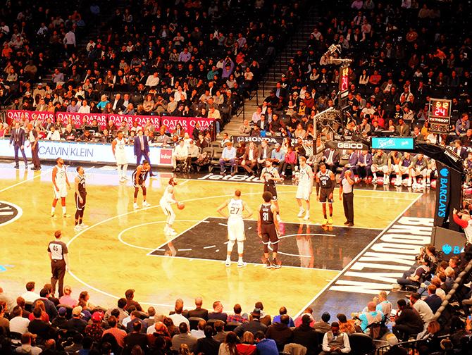 Schema Sportwedstrijden in New York - Brooklyn Nets