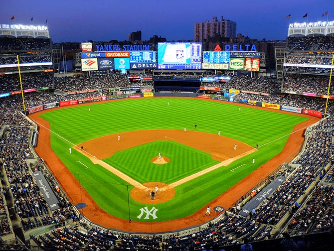 Schema Sportwedstrijden in New York - NY Yankees