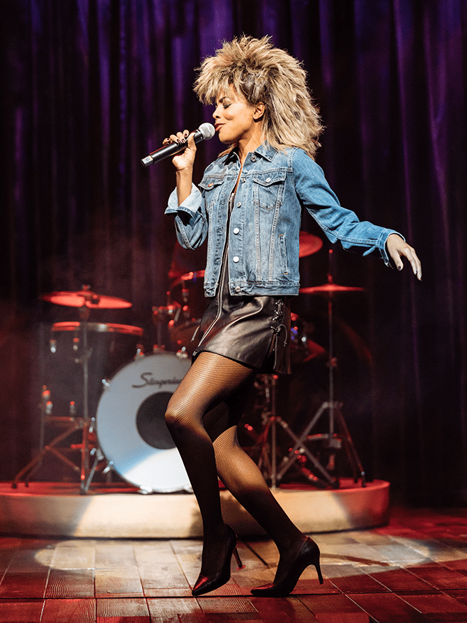 TINA - The Tina Turner Musical op Broadway Tickets - Iconische look
